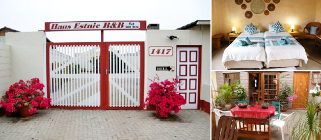 haus estnic, bed and breakfast, bnb, guest house, accommodation, wi-fi, dstv, henties bay, erongo, affordable accommodation, namibia wedding destinations