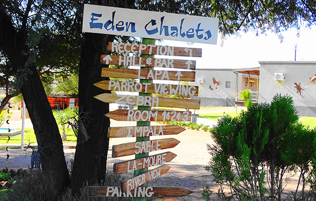 EDEN SELF CATERING CHALETS, WINDHOEK (22km)